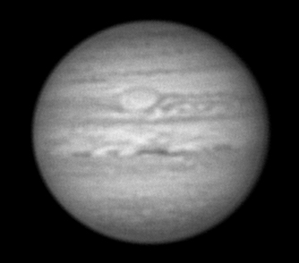 Jupiter en 2005, webcam ATIK